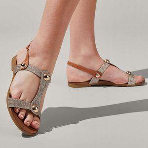 NEW Carvela Kurt Geiger Women's Metallic sandals